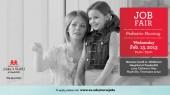 Job fair for pediatric nurses Feb. 13