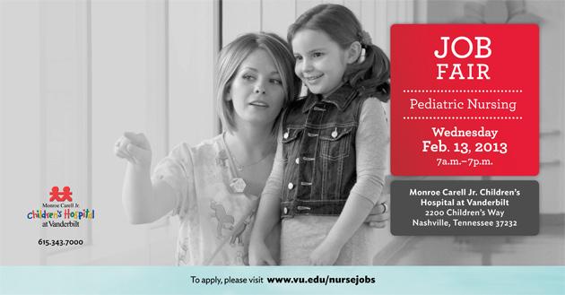 Vanderbilt University Jobs >> Job Fair For Pediatric Nurses Feb 13 Vumc Reporter