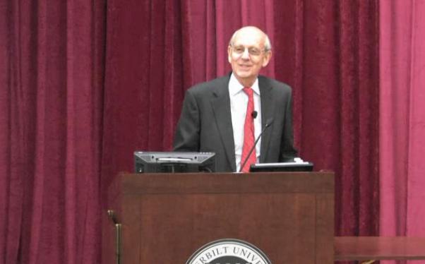 Video: Supreme Court Justice Stephen Breyer speaks at Vanderbilt Law School