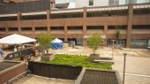 Medical Center plaza restoration project rolls on
