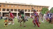 Powwow dance performance highlights Constitution and Citizenship Day