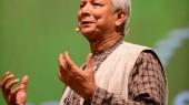 Yunus speaks at Global Social Business Summit