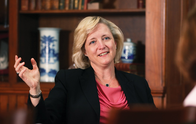 Provost and Vice Chancellor for Academic Affairs Susan R. Wente