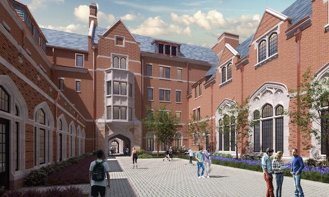 Residenial College C rendering