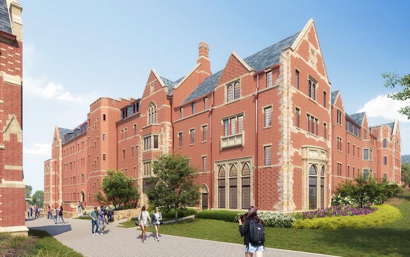 Residential College C rendering