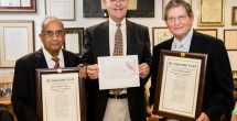 Congressman Cooper honors Hamilton and Ramayya for superheavy element discovery