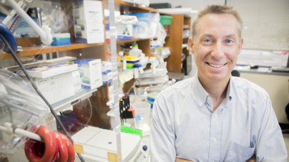 Jeffrey Rathmell, Ph.D., said Vanderbilt has exceptional strengths in the emerging field of immunometabolism. (photo by Susan Urmy)