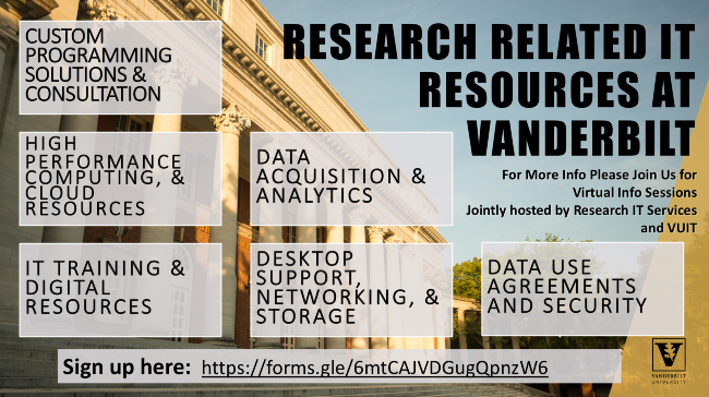 Research-related Resources at Vanderbilt