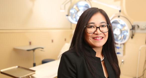 Anna Rodriguez, MSN, MHA, has been named Associate Nursing Officer at Vanderbilt-Ingram Cancer Center. (photo by Susan Urmy)