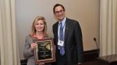 Blackburn presented ophthalmology Visionary Award