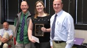 Photo: Cunningham Award for Excellence in Biochemistry