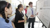 Photo: Sharing research