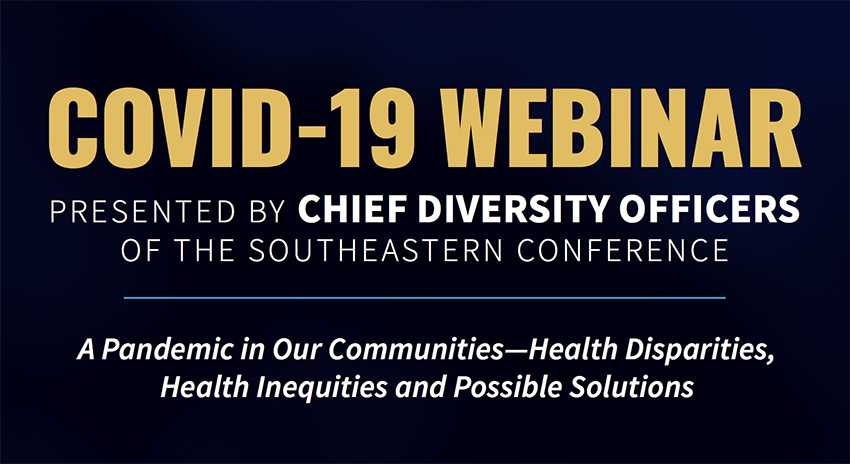 COVID-19 webinar presented by chief diversity officers of the SEC