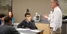 Congressman Jim Cooper visits School for Science and Math at Vanderbilt