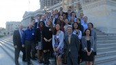 VU students learn about federal STEM issues and advocacy in Washington, D.C.