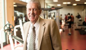 Groundbreaker — Sam Hirt, MA'63, EdS'69, bids farewell to Campus Recreation