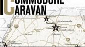 Commodore Caravan Crisscrossing State in June