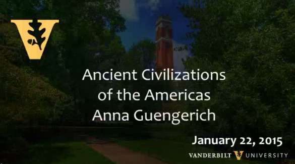 Ancient Civilizations of the Americas by Anna Guengerich 1.22.2015