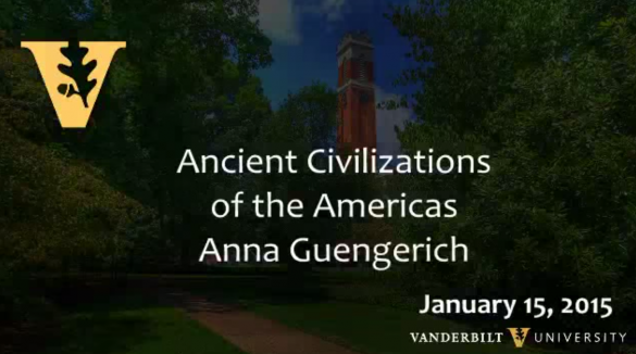 Ancient Civilizations of the Americas by Anna Guengerich 1.15.2015