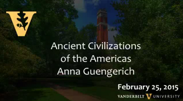 Ancient Civilizations of the Americas by Anna Guengerich 2.25.2015