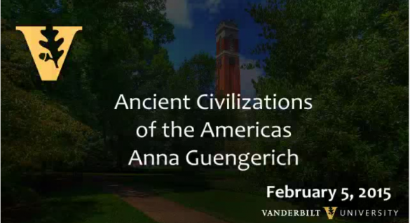 Ancient Civilizations of the Americas by Anna Guengerich 2.5.2015