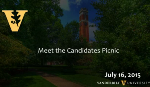 Vanderbilt's Meet the Candidates Picnic