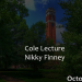 Vanderbilt Divinity School 2015 Cole Lectures delivered by Nikky Finney 10.8.2015