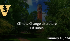 Climate Change Literature: A New Fictional Genre about a Real Problem 1.28.16