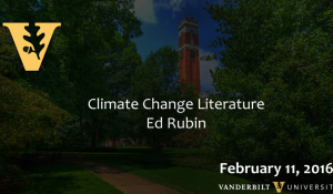 Climate Change Literature: A New Fictional Genre about a Real Problem 2.11.16