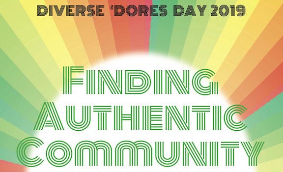 Graphic showing the Diverse 'Dores Day poster