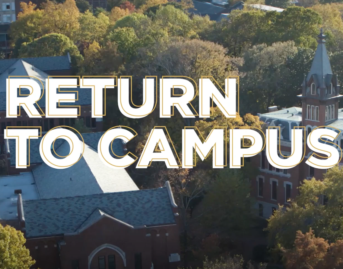Return to Campus graphic