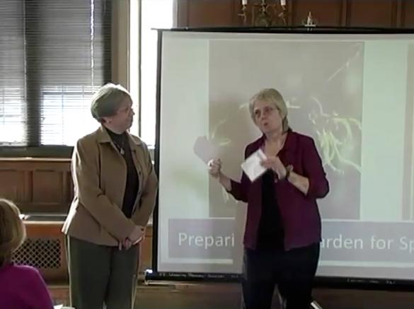 "Cindy Wedel: ""Preparing Your Garden for Spring"""