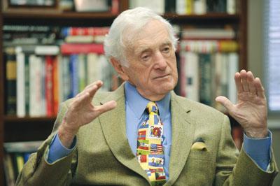 John Seigenthaler, founder of the First Amendment Center (John Russell/Vanderbilt University)
