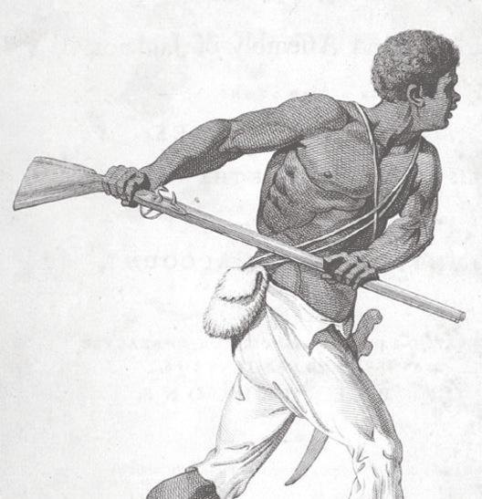 Slave and gun