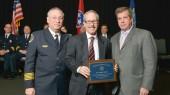Slovis receives Community Service Award from Nashville Police Department