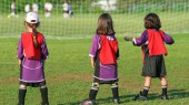 Students' soccer marketing plan gives red card to obesity in Middle East