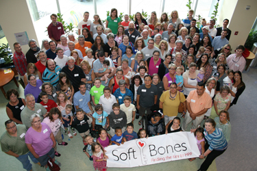 Children's Hospital recently hosted the national Soft Bones conference on the rare metabolic disease hypophosphatasia (HPP).