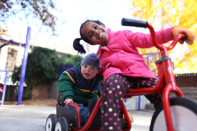 Children With Disabilities And >> At Susan Gray School Children With Disabilities And Typically