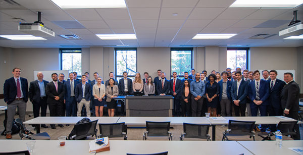 TVA Investment Challenge students at a recent gathering at Vanderbilt. (Image provided)