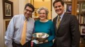 Goddu receives 2014 Chancellor's Cup