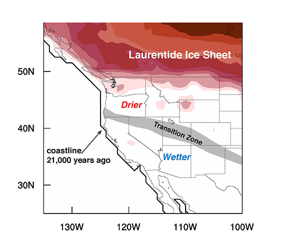 Ice Age map helps predict the next mega drought - Futurity