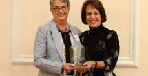 Mona Frederick named UNC Distinguished Alumna