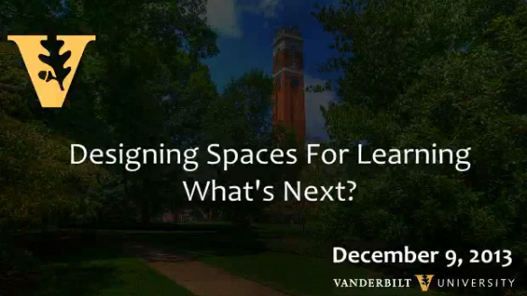 Designing Spaces for Learning: What's Next?