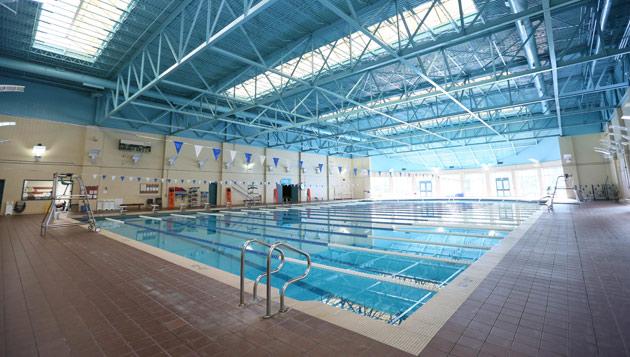 The swimming pool at the Vanderbilt Recreation and Wellness Center (Vanderbilt University)