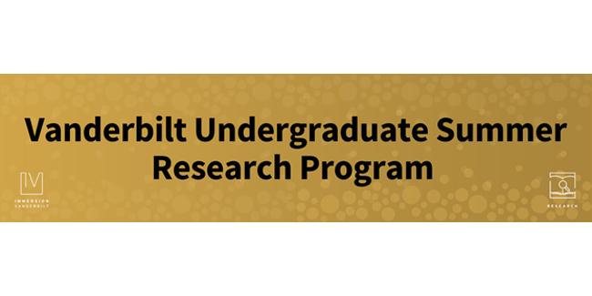 Applications for 2022 Vanderbilt Undergraduate Summer Research Program open Oct. 26