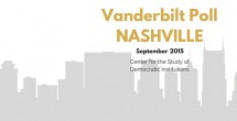 Vanderbilt Poll-Nashville: Newly elected leadership must find balance between social services, continued economic development