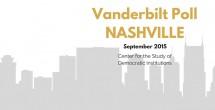 Vanderbilt Poll-Nashville: Newly elected leadership must find balance between social services, continued economic development