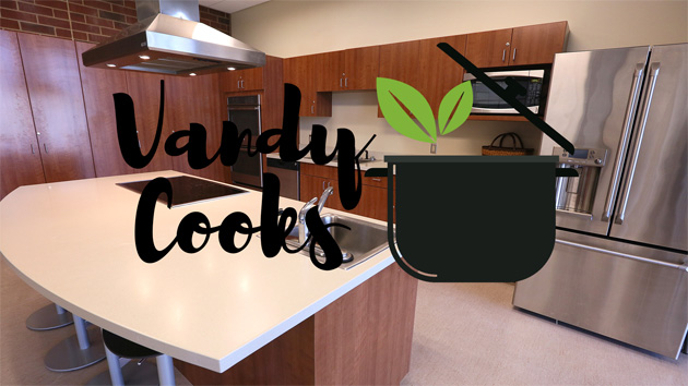 The teaching kitchen is located at the Vanderbilt Recreation and Wellness Center. (Vanderbilt University)