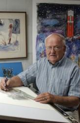 Robert Vantrease at work