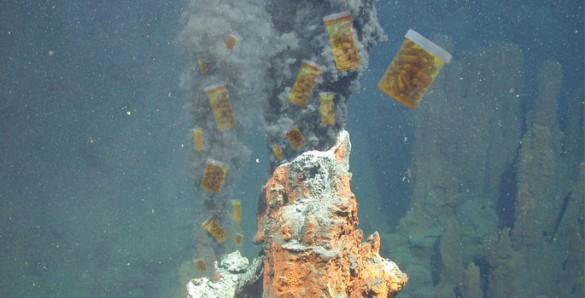 underwater geyser